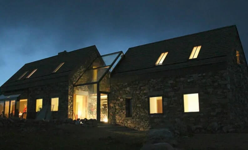 connemara cottage exterior