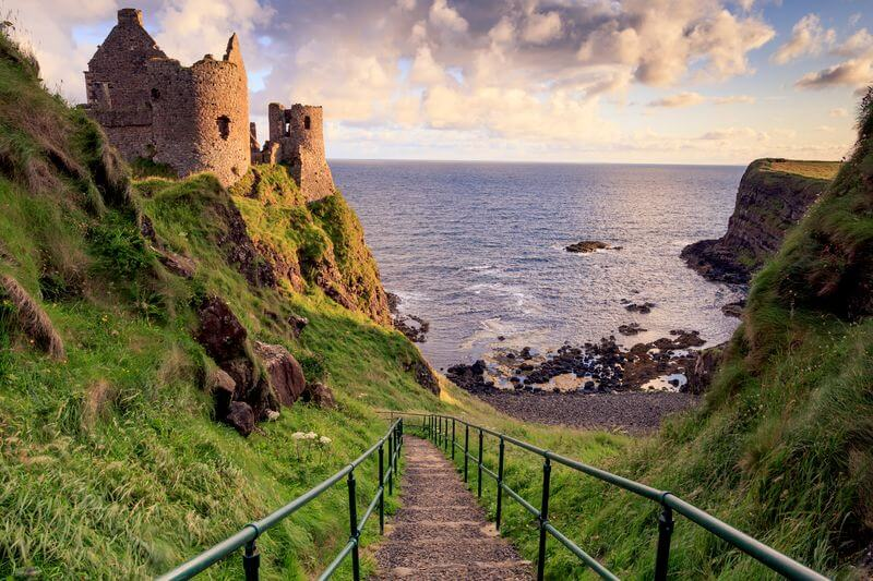 dunluce castle game of thrones