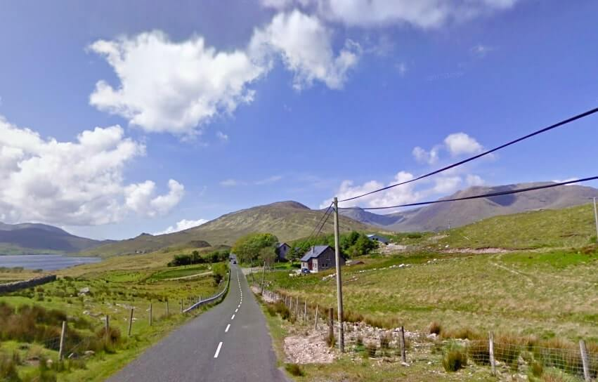 Leenane to Louisburgh drive connemara
