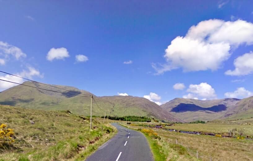 Leenane to Louisburgh drive ireland