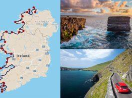 wild atlantic way itinerary ireland