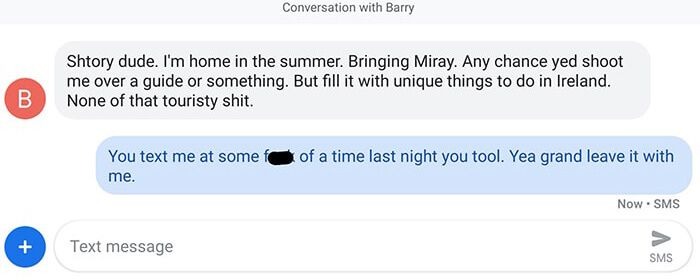 text from Barry