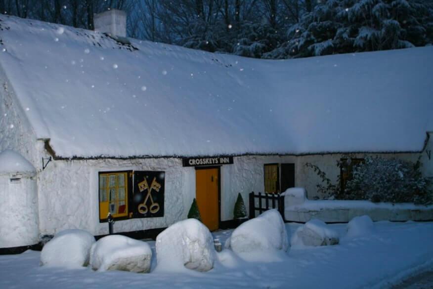 the cross-eyes Antrim snow