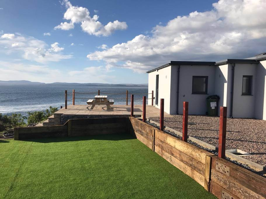 sea view airbnb donegal