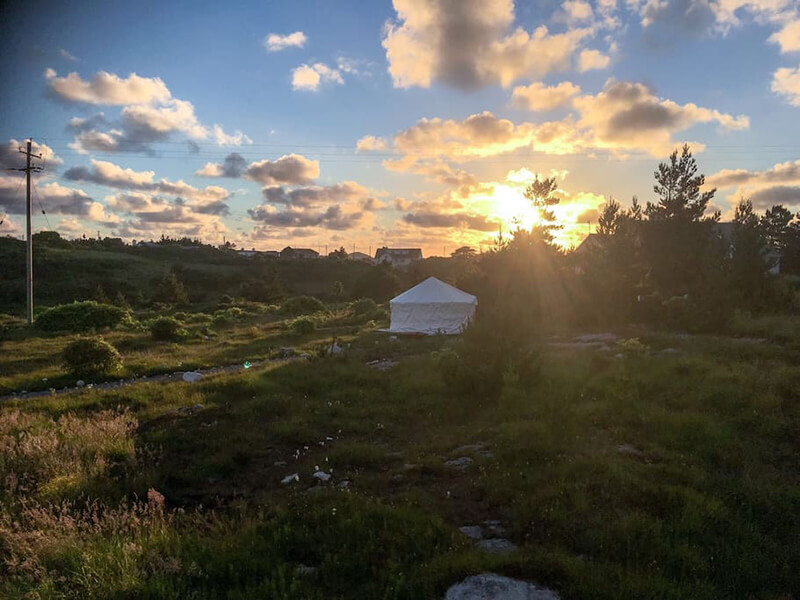 donegal yurt airbnb