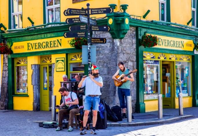 galway city buskers