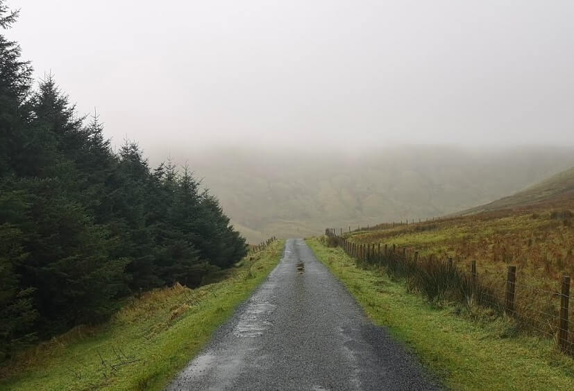 Gleniff Horseshoe Drive in Sligo