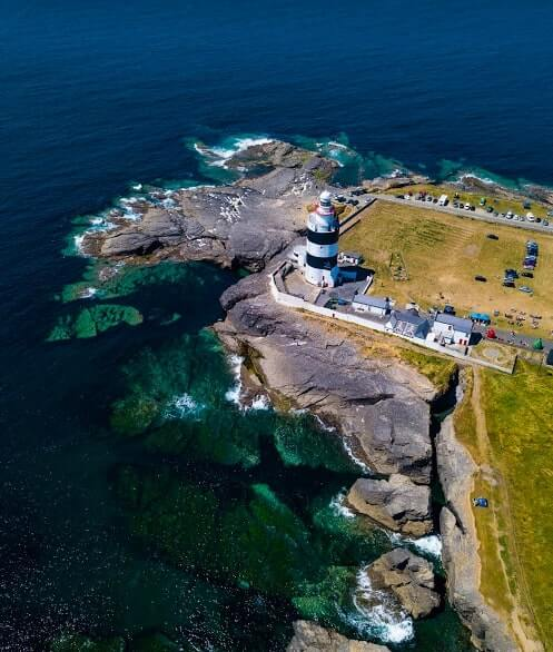 hook lighthouse drone