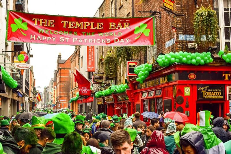 paddy day temple bar