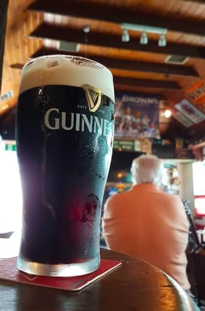 guinness in Peadar Browns
