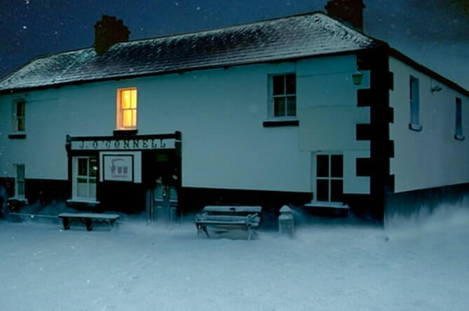 pub in meath from guinness Christmas ad