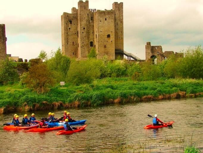 kayaking on the boyne