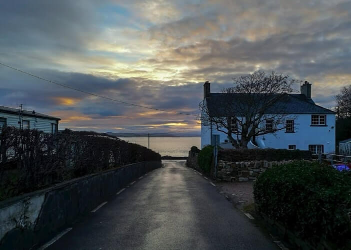 road into the shandon