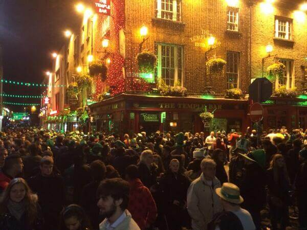 paddy day in temple bar 2019
