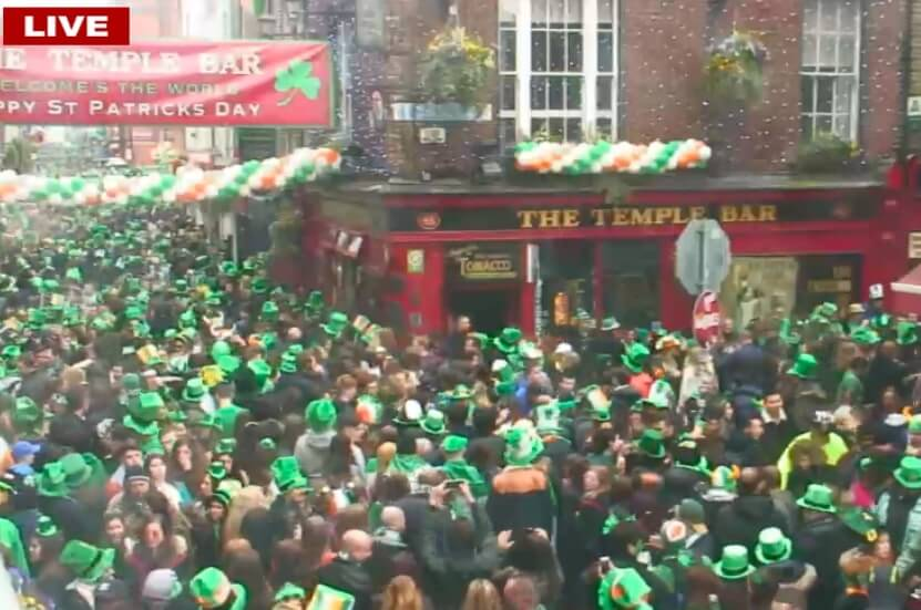 temple bar st patricks day