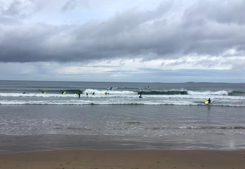 surfing in sligo