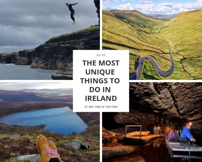 unique things to do in ireland guide