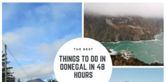 wild atlantic way donegal itinerary