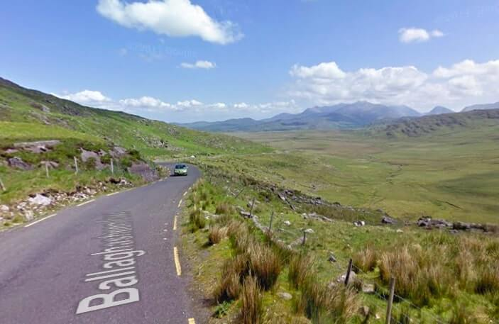 Ballaghisheen Pass drive
