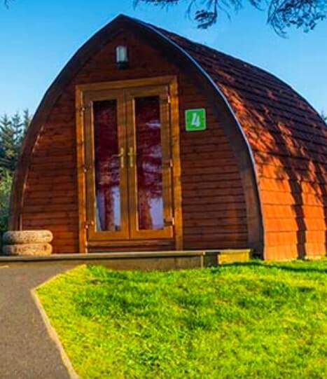 arranmore island pods for glamping