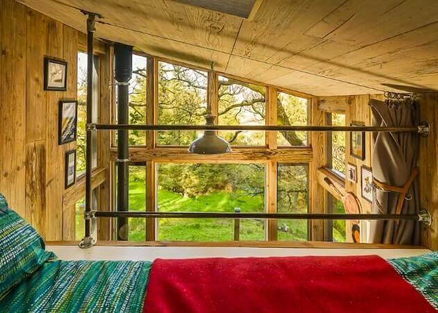 donegal treehouse airbnb
