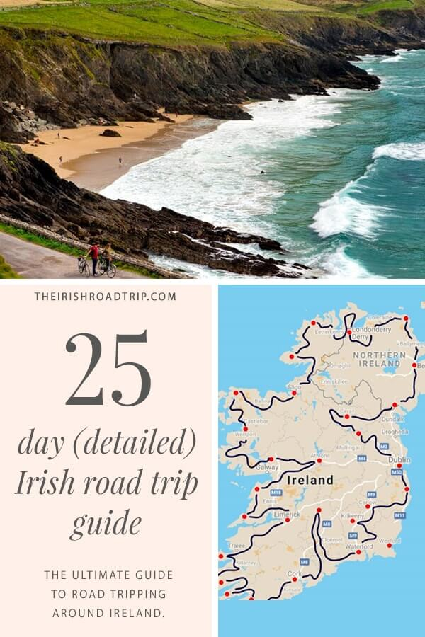 ireland road trip route