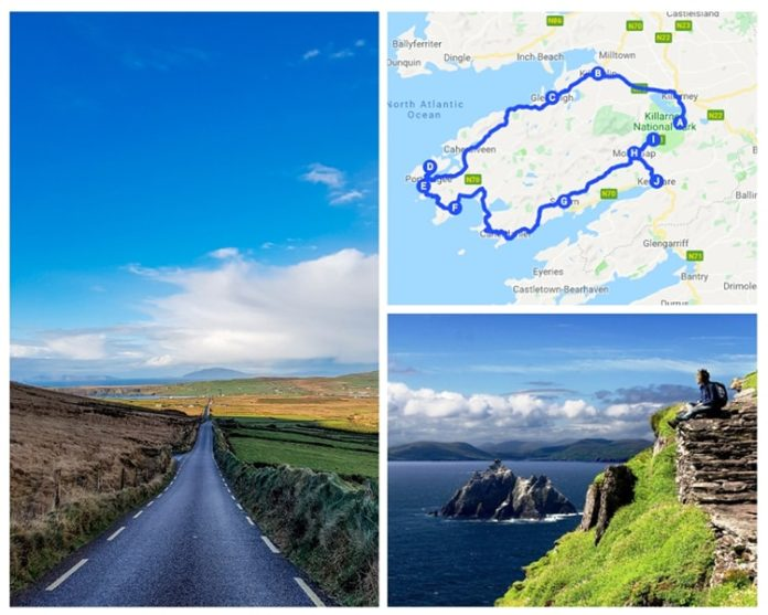 Map Of Ireland For Driving.Ring Of Kerry Drive The Best 2019 Guide Map Highlights Route Tours