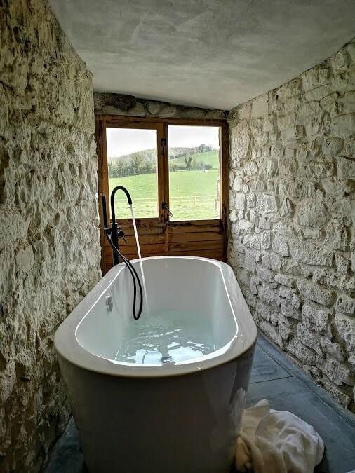 tubbrid castle bath view