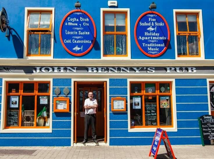 john bennys pub dingle