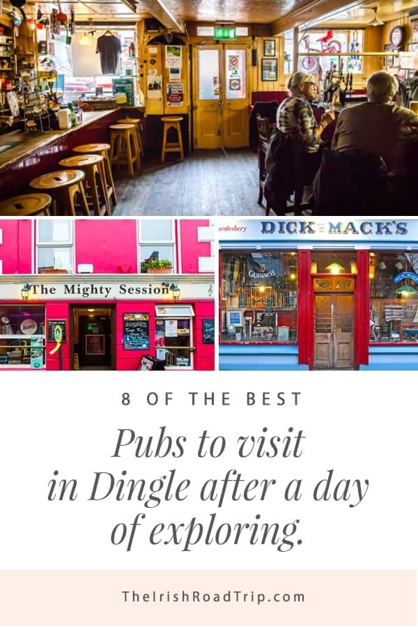 pubs in dingle with live music