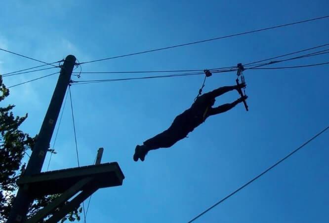 Lurgaboy Adventure centre ziplining