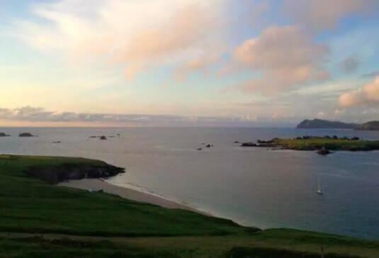 blasket island sunrise