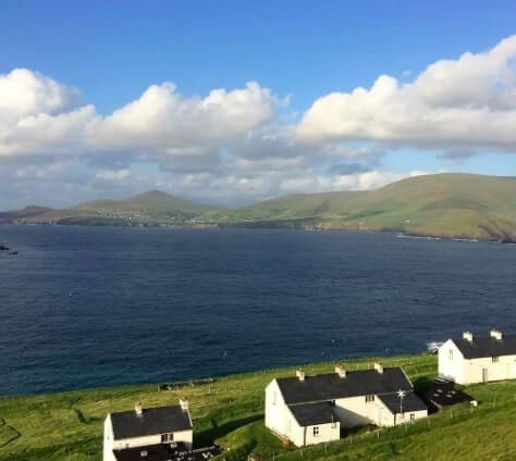 view from great blasket island