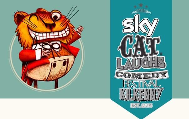 cat laughs kilkenny