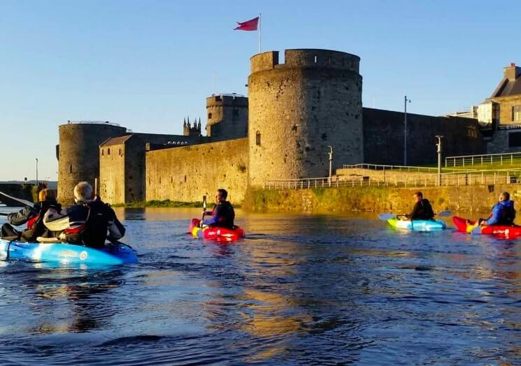 limerick city kayak tour