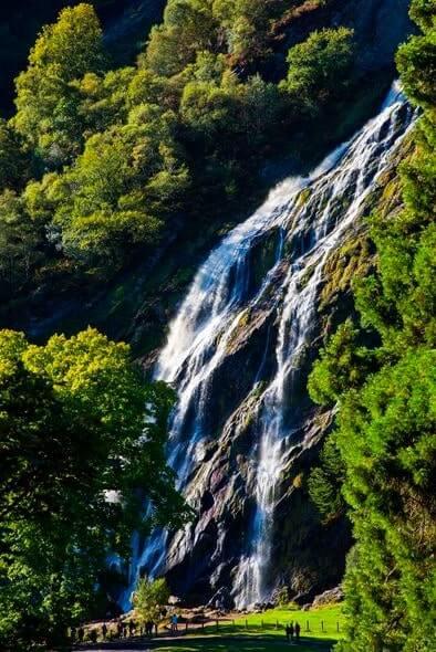 powerscourt waterfall wicklow