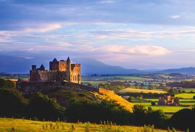 Irish castle in county tipperary