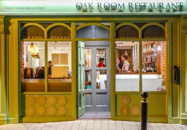oak room restaurant cavan