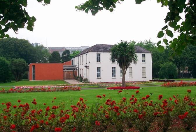 Exterior of Cork Public Museum