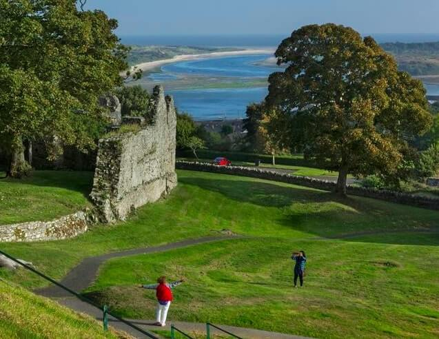 Dundrum Castle in county down