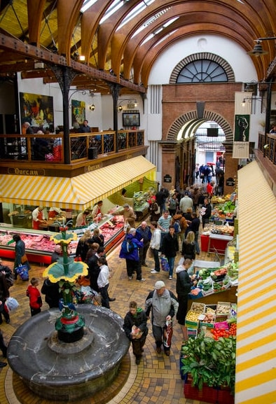 inside Cork's English Market