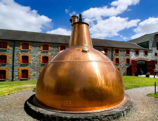 Visiting the Jameson Distillery Midleton