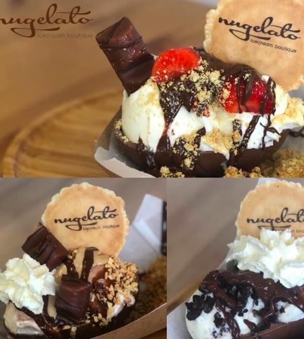 Nugelato ice cream