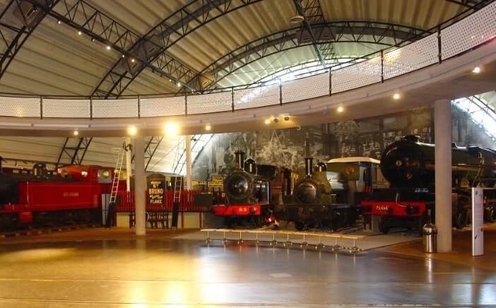 inside the Ulster Folk & Transport Museum in down
