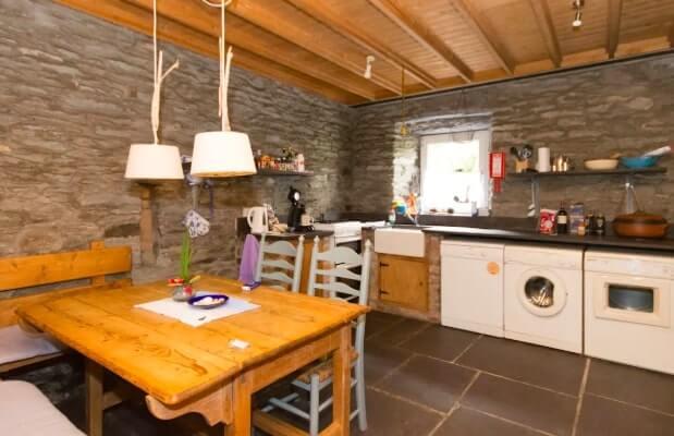 The boathouse kitchen