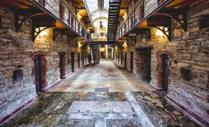 inside Cork Ciry Gaol