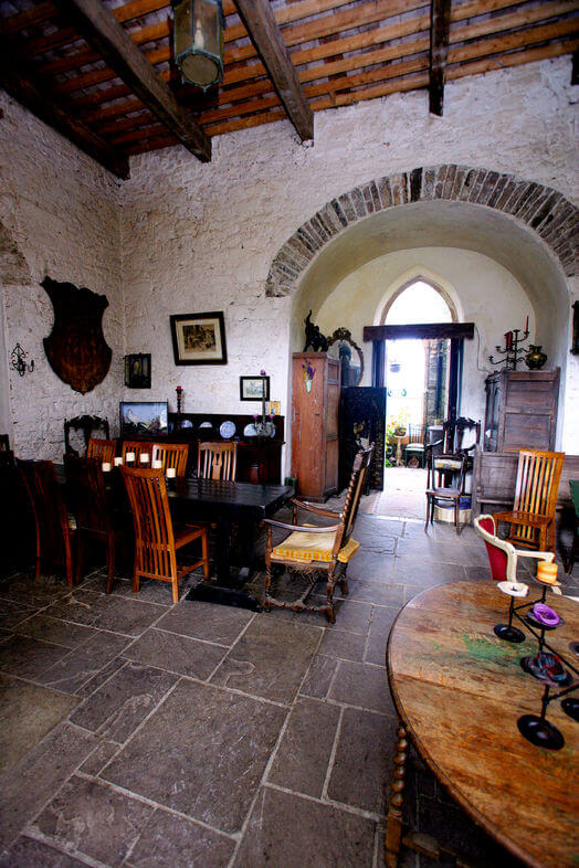 Inside Leap Castle in Offaly