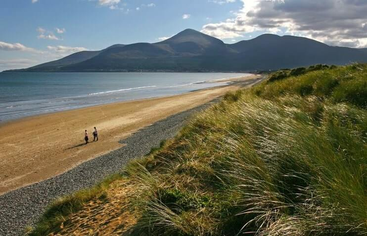 murlough beach in down