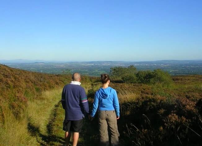 walking the slieve bloom way