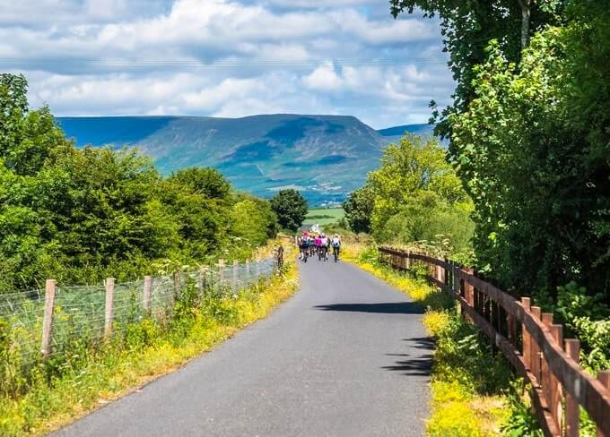 cycling the waterford greenway